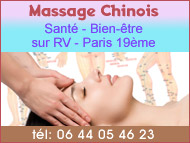 Massage chinois à Paris